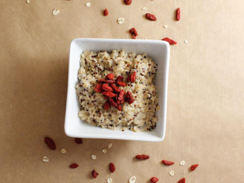 Avena con quinoa