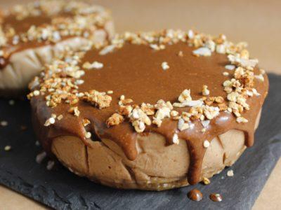 Torta Helada de Peanut Butter y Choco-Peanut Butter