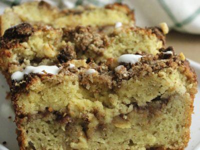Coffee Cake de Manzana y Canela